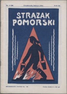 Strażak Pomorski 1929, R. 3 nr 4