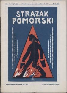 Strażak Pomorski 1929, R. 3 nr 9/10