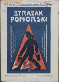 Strażak Pomorski 1930, R. 4 nr 1/2