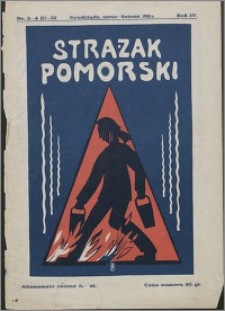 Strażak Pomorski 1930, R. 4 nr 3/4