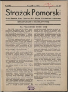Strażak Pomorski 1934, R. 8 nr 1/2