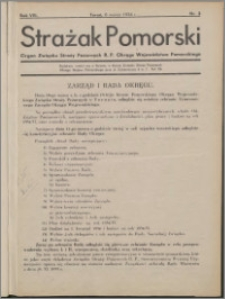 Strażak Pomorski 1934, R. 8 nr 3