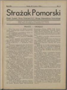 Strażak Pomorski 1934, R. 8 nr 4