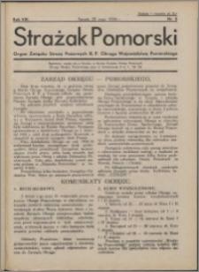 Strażak Pomorski 1934, R. 8 nr 5