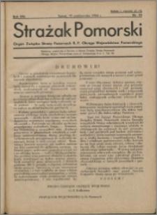 Strażak Pomorski 1934, R. 8 nr 10