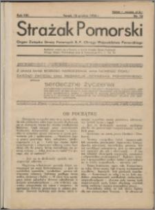 Strażak Pomorski 1934, R. 8 nr 12