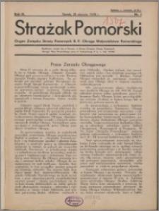 Strażak Pomorski 1935, R. 9 nr 1