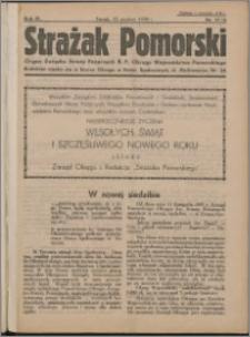 Strażak Pomorski 1935, R. 9 nr 11/12