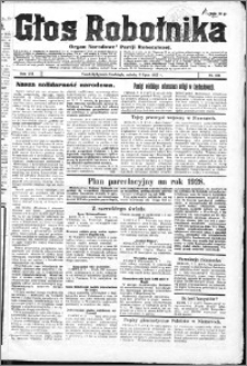 Głos Robotnika 1927, R. 8 nr 154