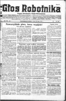 Głos Robotnika 1927, R. 8 nr 168