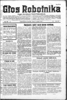 Głos Robotnika 1927, R. 8 nr 177