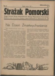 Strażak Pomorski 1937, R. 11 nr 3
