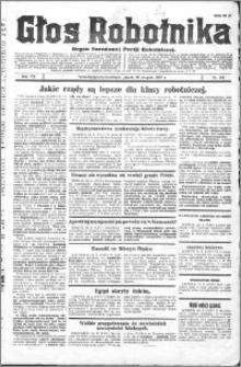 Głos Robotnika 1927, R. 8 nr 194
