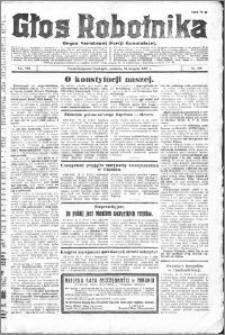 Głos Robotnika 1927, R. 8 nr 196