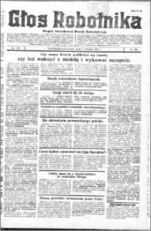 Głos Robotnika 1927, R. 8 nr 204