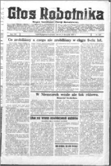 Głos Robotnika 1927, R. 8 nr 256