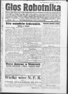 Głos Robotnika 1923, R. 4 nr 133
