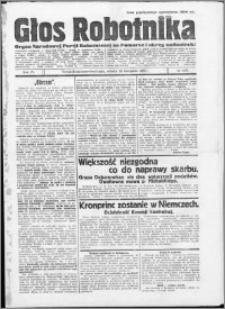 Głos Robotnika 1923, R. 4 nr 138