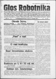 Głos Robotnika 1923, R. 4 nr 139