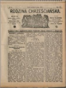 Rodzina Chrześciańska 1910 nr 6