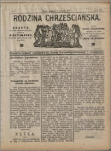 Rodzina Chrześciańska 1910 nr 51