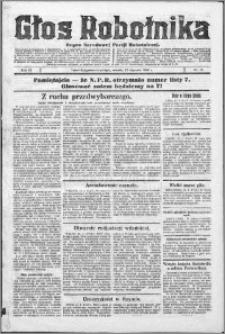 Głos Robotnika 1928, R. 9 nr 13