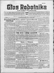 Głos Robotnika 1928, R. 9 nr 190
