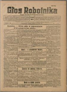 Głos Robotnika 1929, R. 10 nr 13