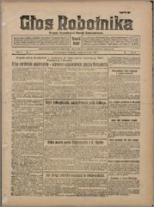 Głos Robotnika 1929, R. 10 nr 18