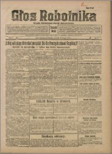 Głos Robotnika 1929, R. 10 nr 22