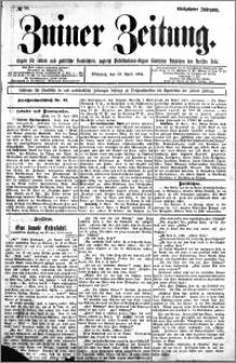 Zniner Zeitung 1904.04.13 R.17 nr 28