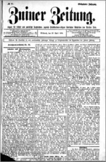 Zniner Zeitung 1904.04.20 R.17 nr 30