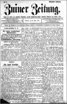 Zniner Zeitung 1904.04.27 R.17 nr 32