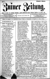 Zniner Zeitung 1904.04.30 R.17 nr 33