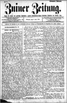 Zniner Zeitung 1904.06.08 R.17 nr 44