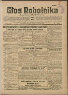 Głos Robotnika 1929, R. 10 nr 121