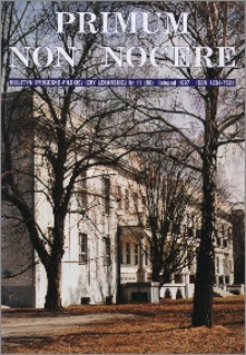 Primum Non Nocere 1997 nr 11