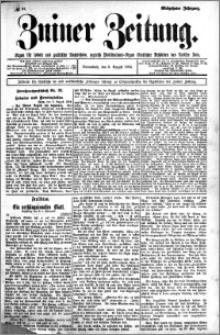 Zniner Zeitung 1904.08.06 R.17 nr 61