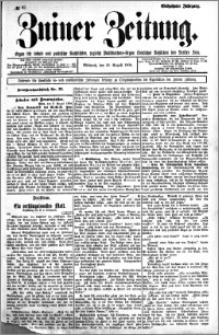 Zniner Zeitung 1904.08.10 R.17 nr 62