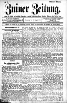 Zniner Zeitung 1904.08.13 R.17 nr 63