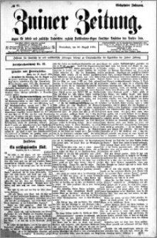 Zniner Zeitung 1904.08.20 R.17 nr 65