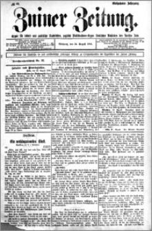 Zniner Zeitung 1904.08.24 R.17 nr 66