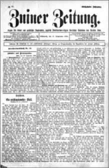 Zniner Zeitung 1904.09.14 R.17 nr 72