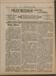 Przewodnik Naukowy i Literacki 1909, R. 10 numer na maj