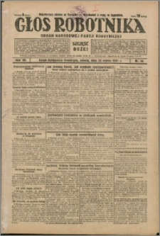 Głos Robotnika 1931, R. 12 nr 38