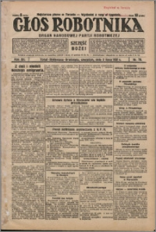 Głos Robotnika 1931, R. 12 nr 78