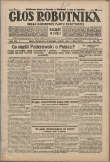 Głos Robotnika 1931, R. 12 nr 79