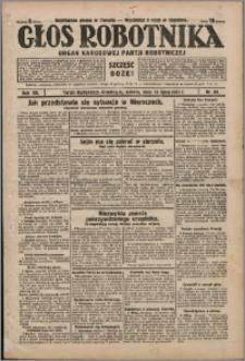 Głos Robotnika 1931, R. 12 nr 85