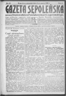 Gazeta Sępoleńska 1930, R. 4, nr 27