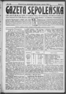 Gazeta Sępoleńska 1930, R. 4, nr 30